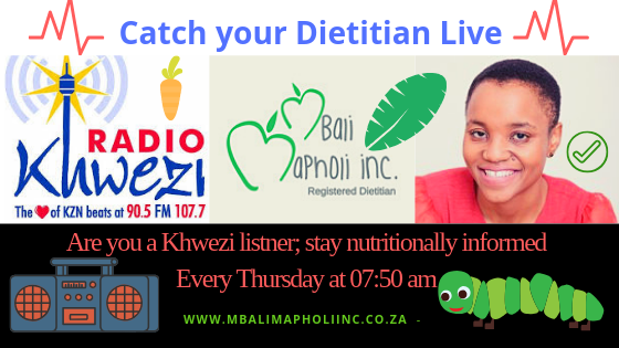 Radio Khwezi and Nutrition @ Radio Khwezi studios
